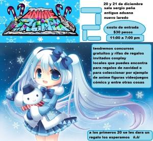 animetronik edición de invierno 2